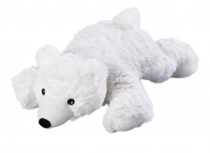 Warmies Otroški termofor s sivko polarni medvedek