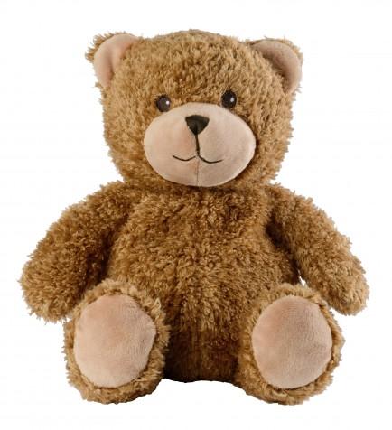 Warmies Otroški termofor s sivko Rjavi medved