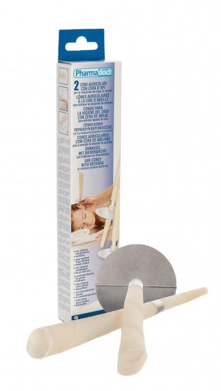 Pharmadoct Tulec za odstr. ušesnega masla 2X