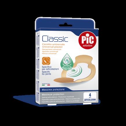PiC Antibakterijski obliž Classic za sklepe 4X
