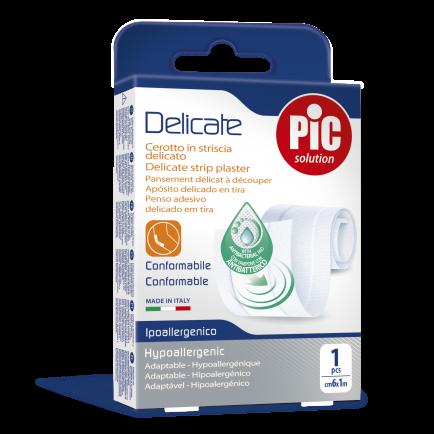 PiC Antibakterijski obliž Delicate za rezat 50X8cm bel