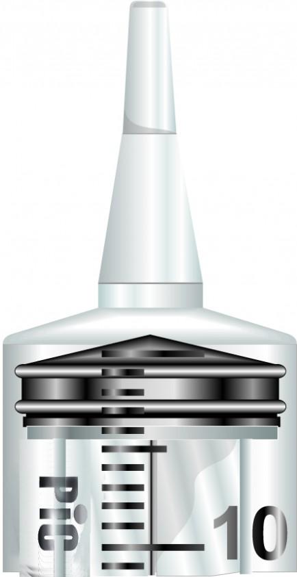 PiC Brizge Cateter brez igle 50 mL 50X