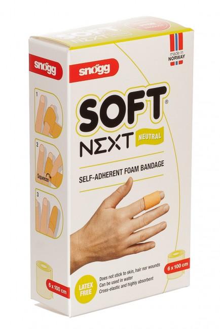 Snogg Povoj Soft Next 6X100cm rjav