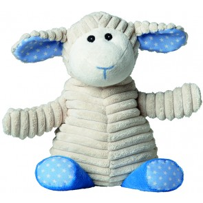 Warmies Otroški termofor s sivko beige/modra Ovčka