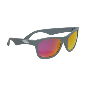 Babiators Otroška sončna očala Ace Navigator Galactic grey/Pink lenses 6+ let ACE-015