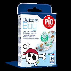 PiC Antibakterijski obliž za dečke Delicate Boy M 24x