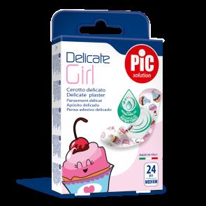 PiC Antibakterijski obliž za deklice Delicate Girl M 24x