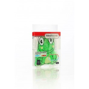 Mediblink Hladilno-toplotna blazinica obkladek s kroglicami, žaba M124