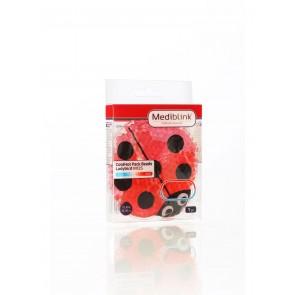 Mediblink Hladilno-toplotna blazinica s kroglicami, pikapolonica M125
