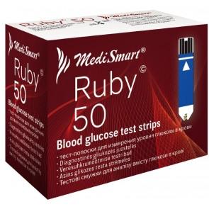 Medismart Testni lističi za merilnik Ruby 50X