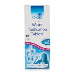Oasis Tablete za dezinfekcijo vode 50X