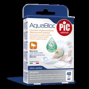 PiC Antibakterijski obliž Aquabloc Mix 40X