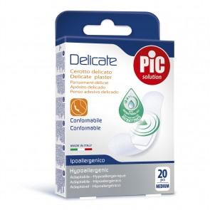 PiC Antibakterijski obliž Delicate M 20X