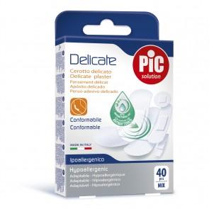 PiC Antibakterijski obliž Delicate Mix 40X