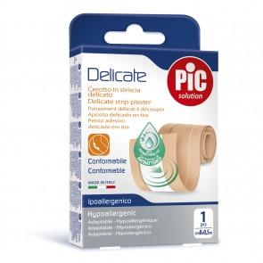 PiC Antibakterijski obliž Delicate za rezat 50X8cm rjav