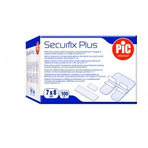 PiC Obliž za IV kanile Securfix Plus 7X8cm 100X
