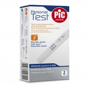 PiC Test za zgodnje ugotavljanje nosečnosti 2X