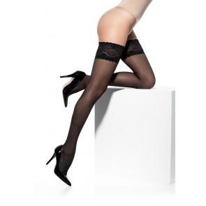 Solidea Kompresijske samostoječe nogavice Marilyn 140den