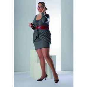 Solidea Kompresijske hlačne nogavice za močnejše postave Personality 140den