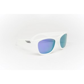 Babiators Otroška sončna očala Ace Navigator Wicked white/Purple lenses 7-14 let ACE-011