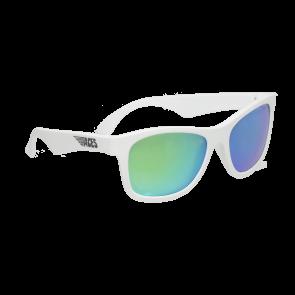 Babiators Otroška sončna očala Ace Navigator Wicked white/Green lenses 6+ let ACE-014