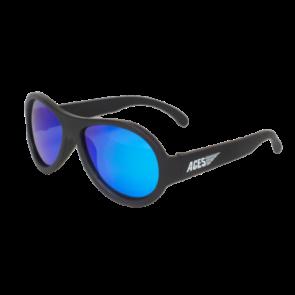 Babiators Otroška sončna očala Polarized Classic Black ops black/Blue lenses 3-5 let BAB-050