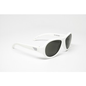 Babiators Otroška sončna očala Original Junior Wicked White 0-3 let BAB-009