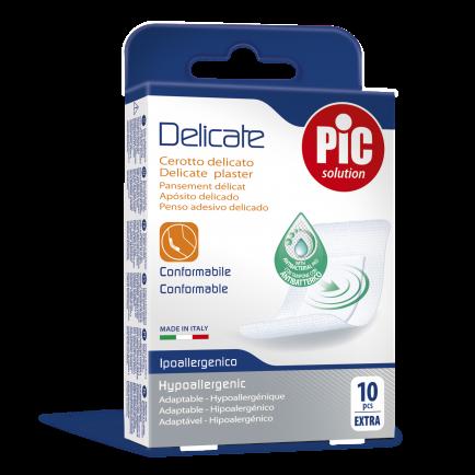 PiC Antibakterijski obliž Delicate XL 10X